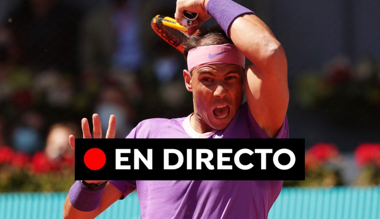 Nadal - Alcaraz: Partido y resultado del Mutua Madrid Open 2021, en directo
