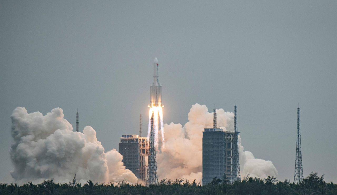 Un cohete chino fuera de control podría caer en Madrid en los próximos días