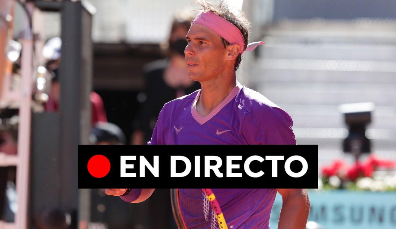 Nadal - Alcaraz: Resultado, sets y resumen del partido del Mutua Madrid Open 2021 hoy, en directo