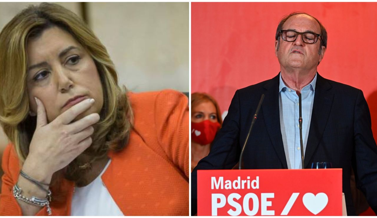 Susana Díaz y Ángel Gabilondo