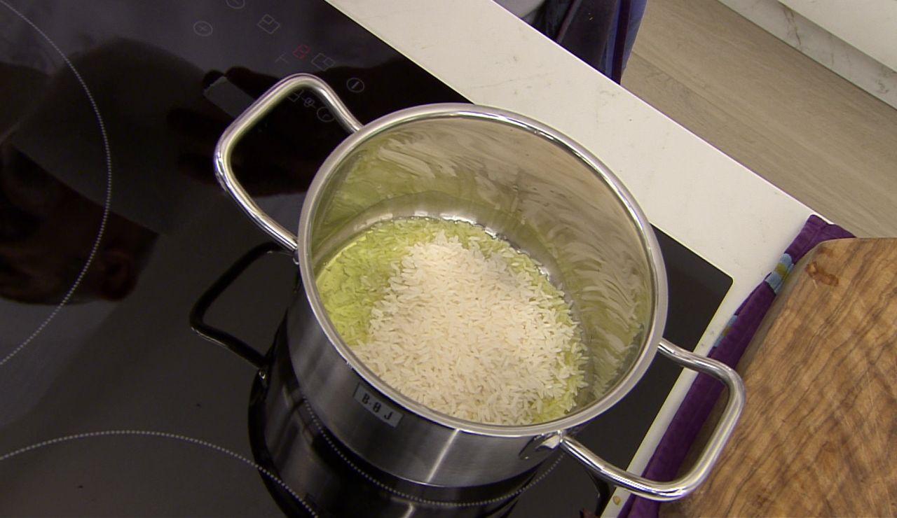 Karlos Arguiñano: la medida justa para un arroz tailandés en su punto