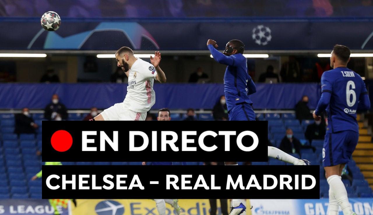 Chelsea - Real Madrid: Resultado, resumen y goles del partido de Champions League hoy, en directo