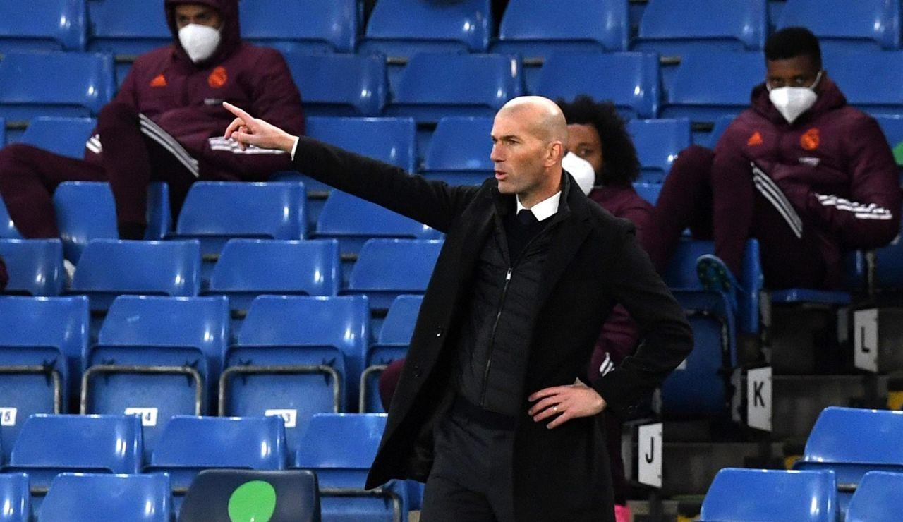 """Zidane: """"El Chelsea ha merecido la victoria, nos faltó contundencia arriba"""""""