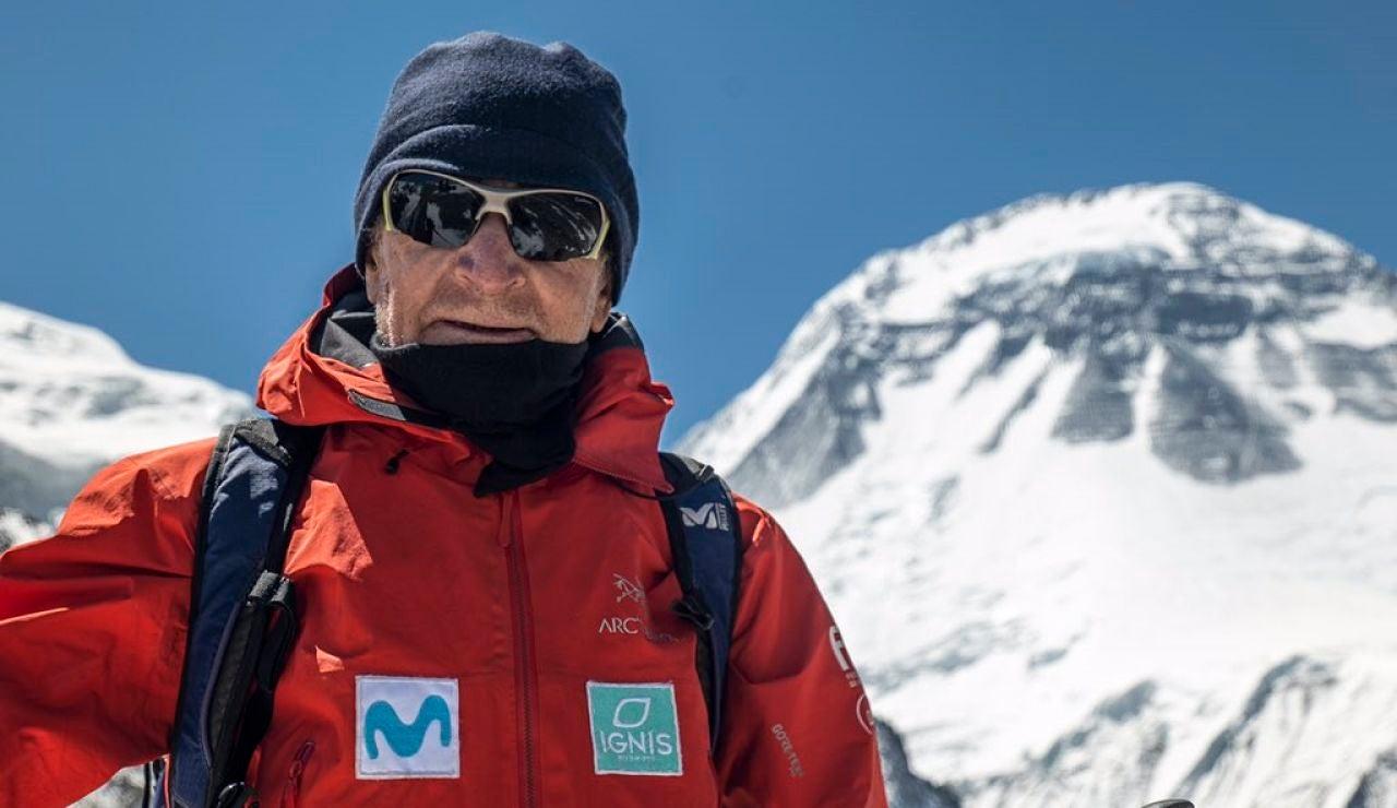 El alpinista Carlos Soria, amenazado por un brote de coronavirus en el Dhaulagiri