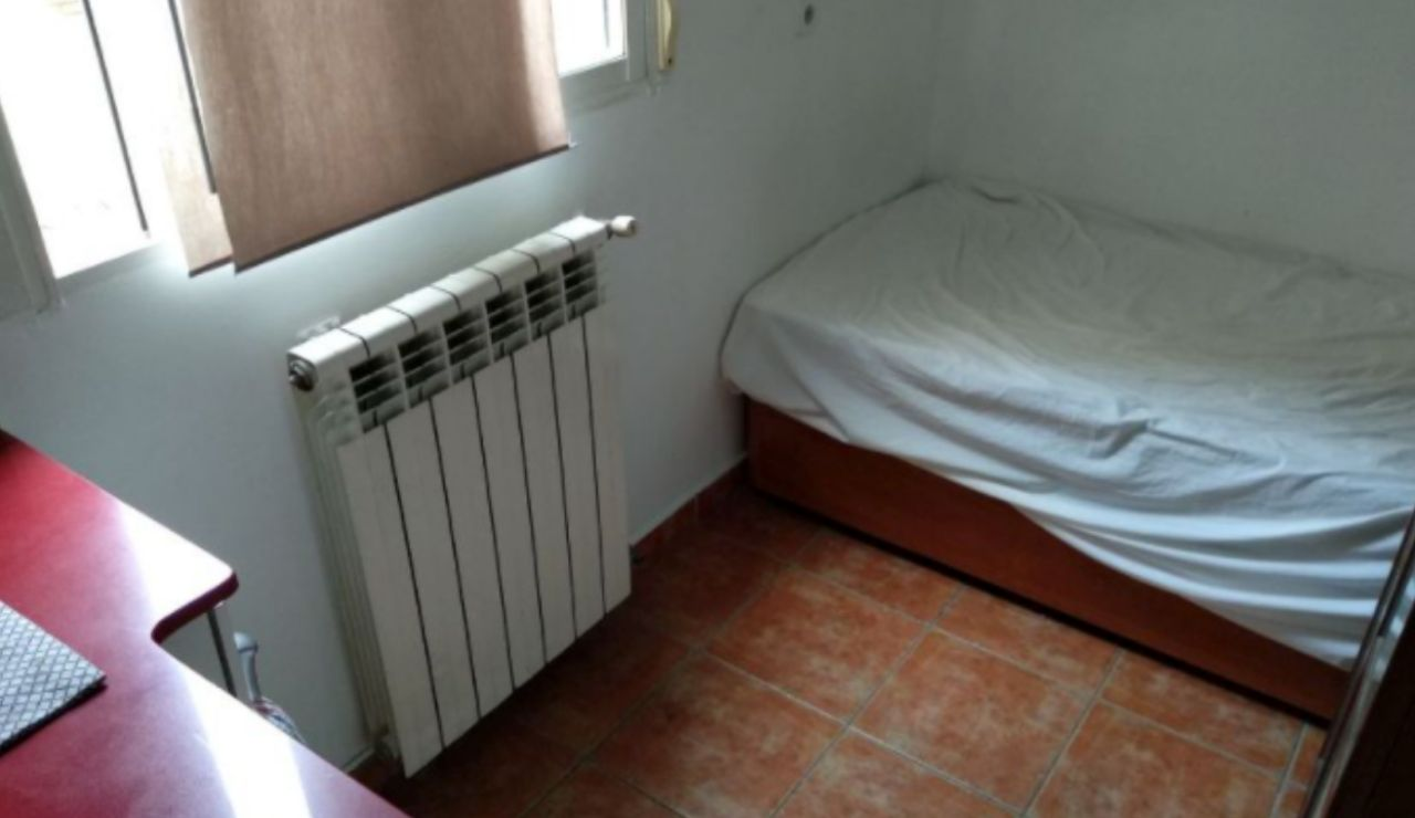 La foto de uno de los anuncios de alquiler de piso