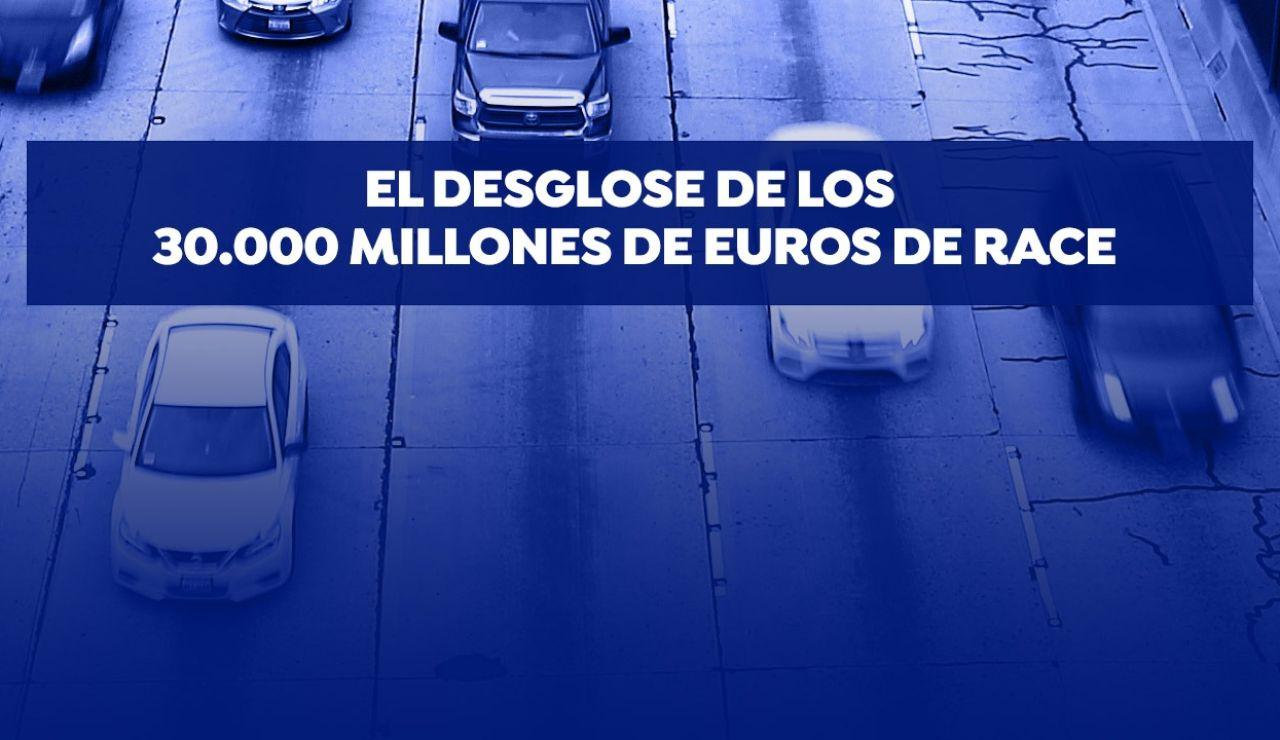 El desglose de los 30.000 millones de euros de race
