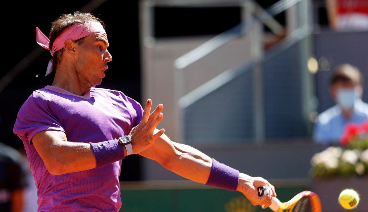 Rafa Nadal - Alexander Zverev: Horario y dónde ver el partido del Mutua Madrid Open en directo