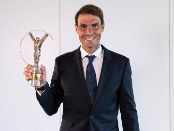 Rafa Nadal gana el Premio Laureus 2021 a mejor deportista del mundo