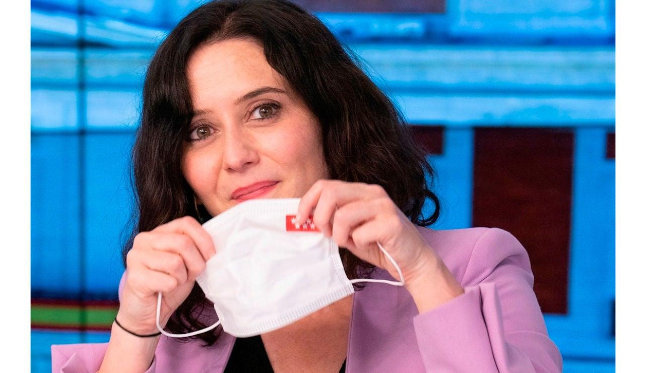 Isabel Díaz Ayuso en el comité ejecutivo del PP tras su victoria en Madrid