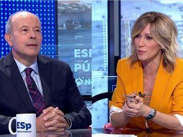 Ministro de Justicia Juan Carlos Campo.