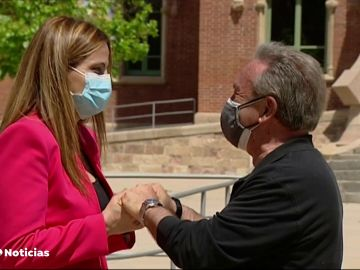 El reencuentro entre la enfermera y su paciente de covid que estuvo a punto de morir