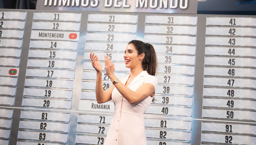 ¿De qué país es cada himno? Pilar Rubio presume de oído en 'El Hormiguero 3.0'