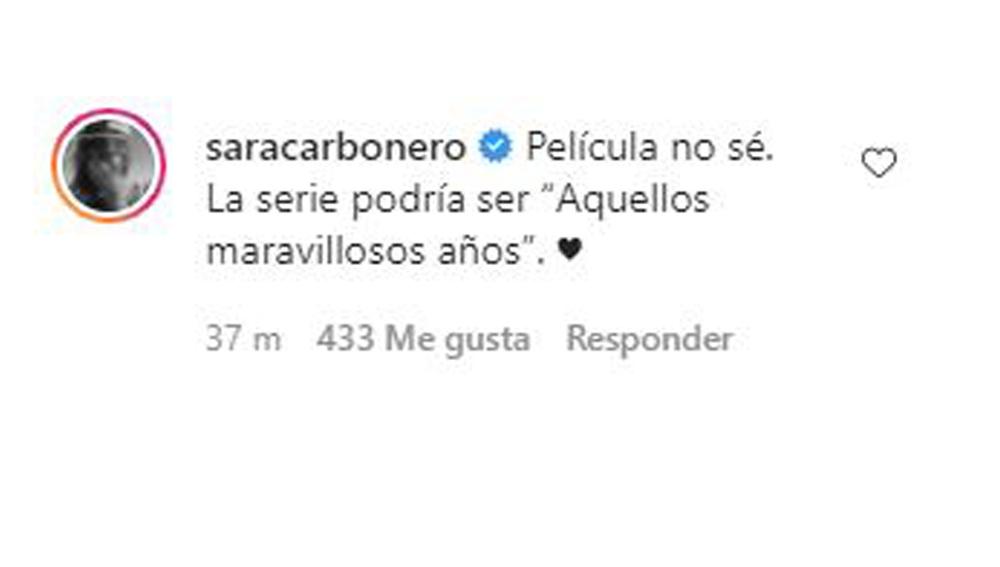 Comentario Sara Carbonero