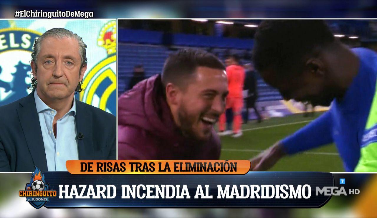 """JOSEP PEDREROL: """"HAZARD NO PUEDE SEGUIR NI UN SEGUNDO MÁS EN EL R.MADRID"""""""