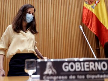 La ministra de Derechos Sociales y Agenda 2030, Ione Belarra