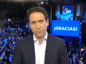 """Teodoro García Egea, sobre la política recaudatoria del PSOE: """"Harían mejor en recortar en publicidad institucional y asesores"""""""