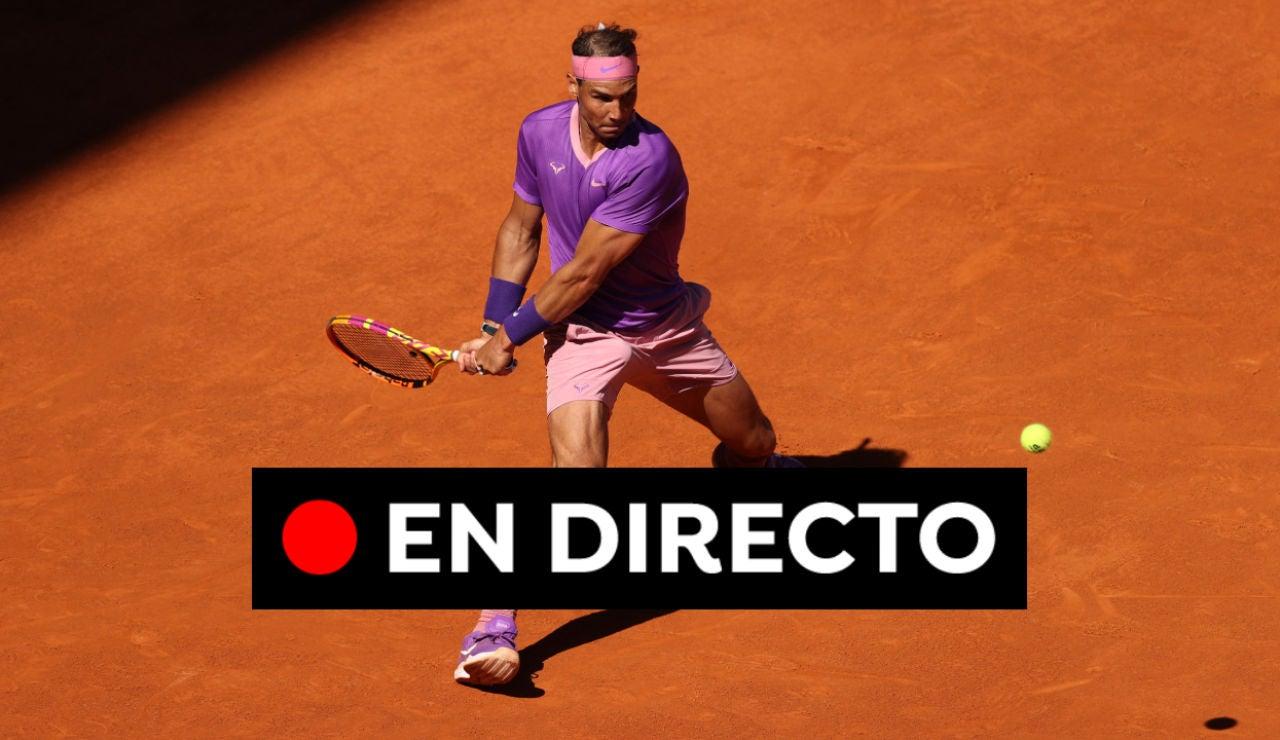 Rafa Nadal - Alexei Popyrin: Mutua Madrid Open hoy, en directo