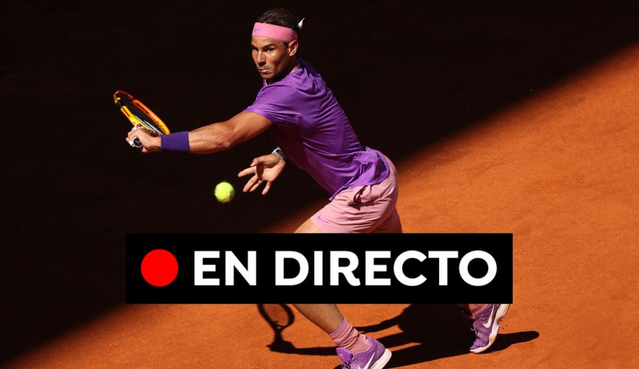 Rafa Nadal - Alexei Popyrin en directo: Resultado del partido del Mutua Madrid Open, en vivo