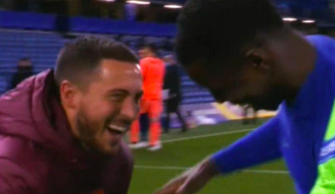 """Hazard pide perdón por las risas tras el Chelsea - Real Madrid: """"No era mi intención ofender"""""""