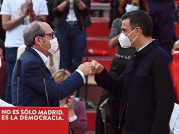 Ángel Gabilondo y Pedro Sánchez