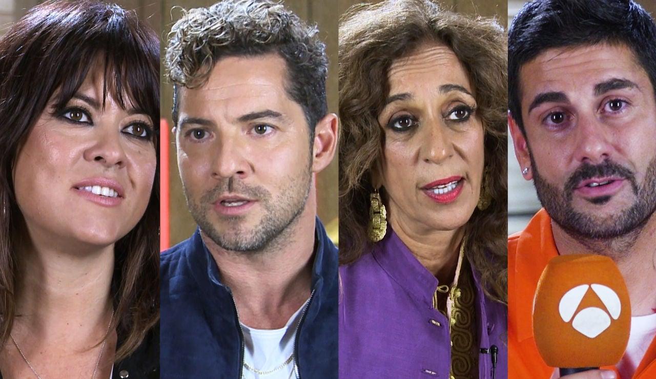 """David Bisbal, Vanesa Martín, Rosario y Melendi, asombrados con el """"nivelazo"""" de esta segunda edición de 'La Voz Kids'"""