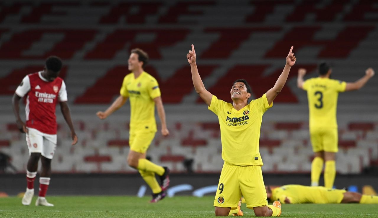 El Villarreal hace historia y jugará la final de la Europe League tras eliminar al Arsenal