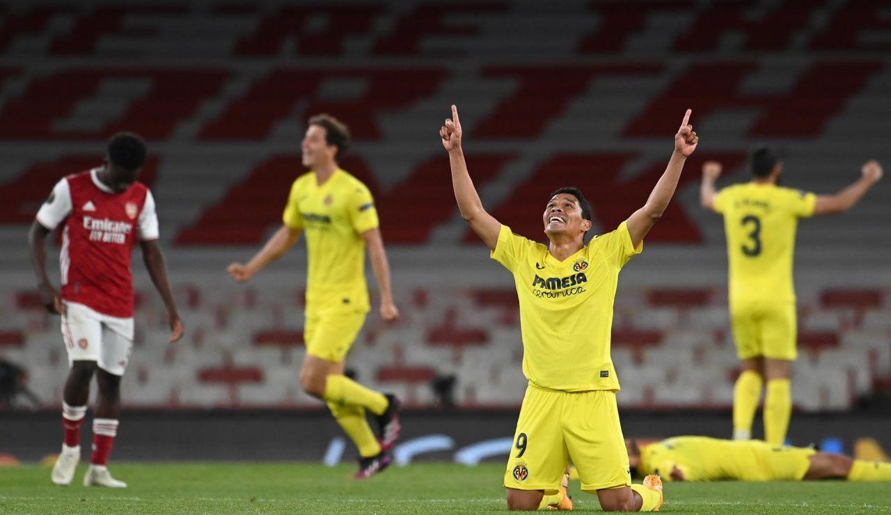 El Villarreal hace historia y jugará la final de la Europe League tras eliminar al Arsenal