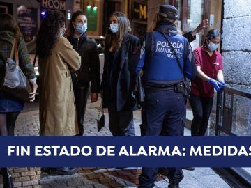 ¿Cuándo es el fin del estado de alarma en España? Así quedan las restricciones en cada comunidad