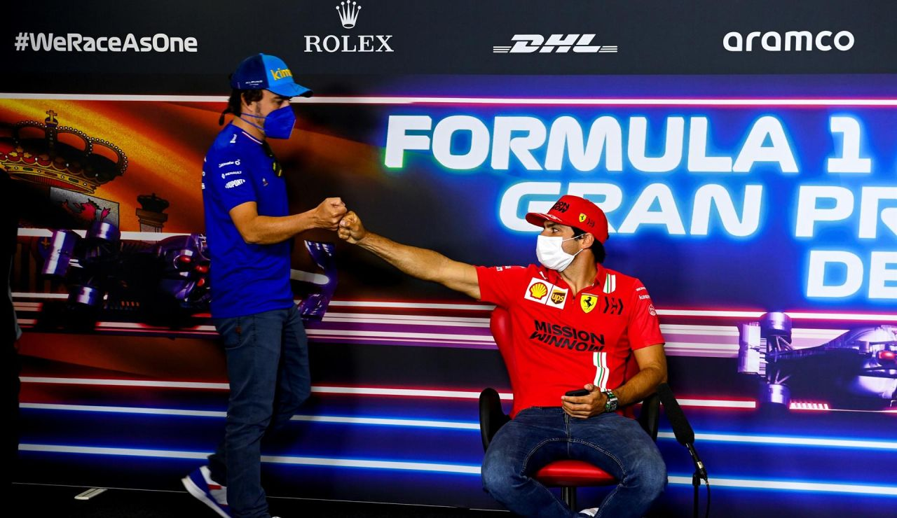 La predicción de Fernando Alonso y Carlos Sainz: ¿quién acabará por delante esta temporada?