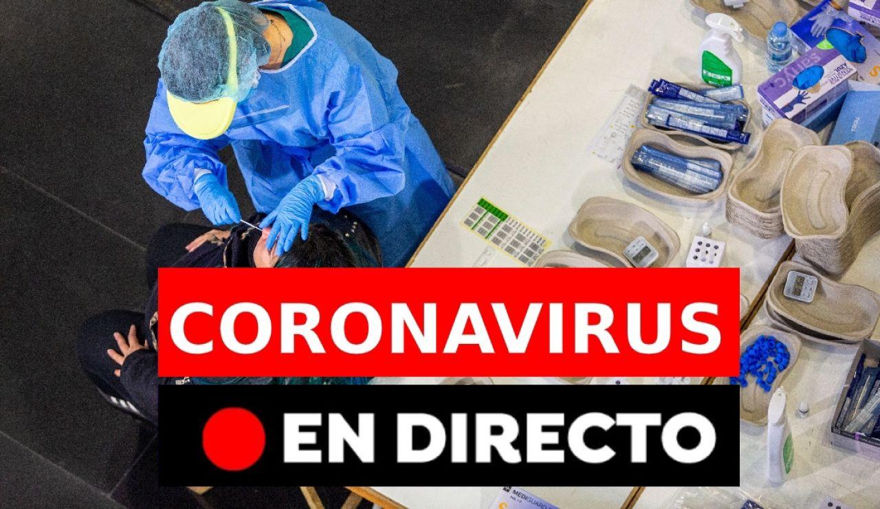 Coronavirus España: Última hora de las patentes de las vacunas, estado de alarma y restricciones, en directo