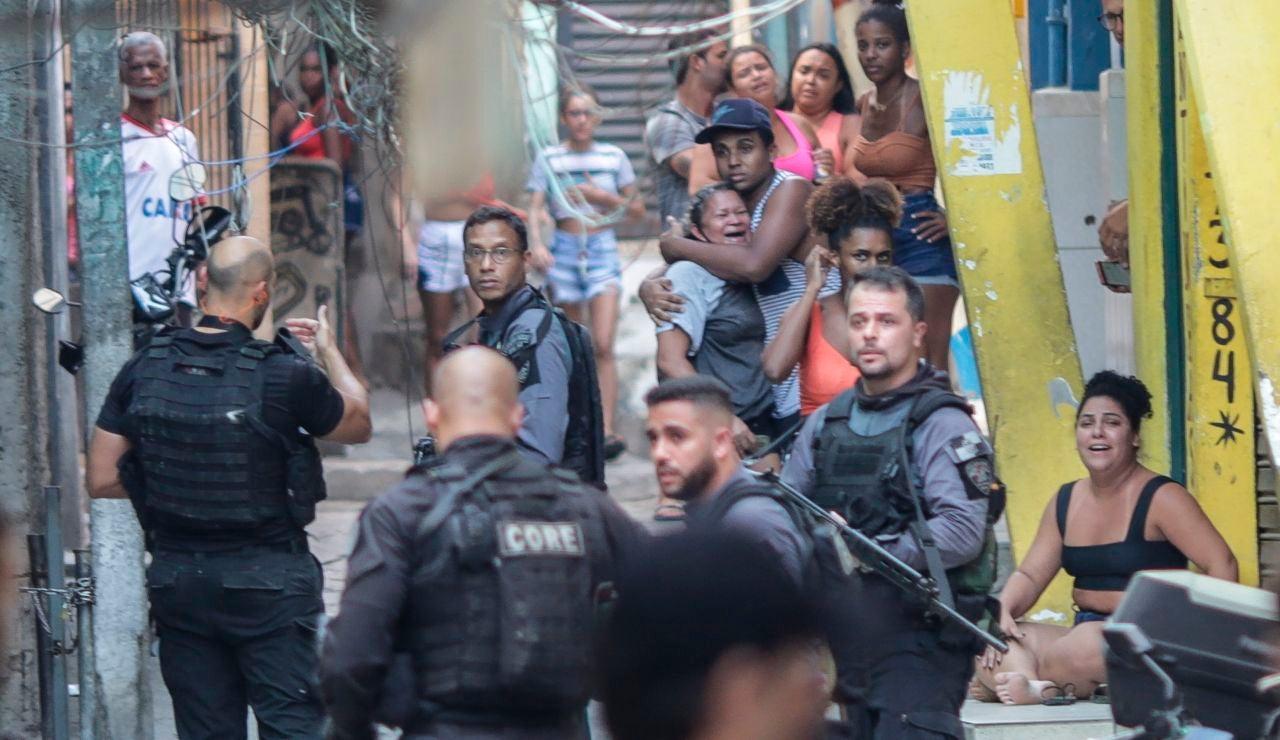 Operación policial en Río de Janeiro