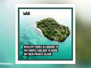 Una familia lanza una oferta de trabajo irresistible: 100.000 euros por cuidar de su isla privada en Bahamas