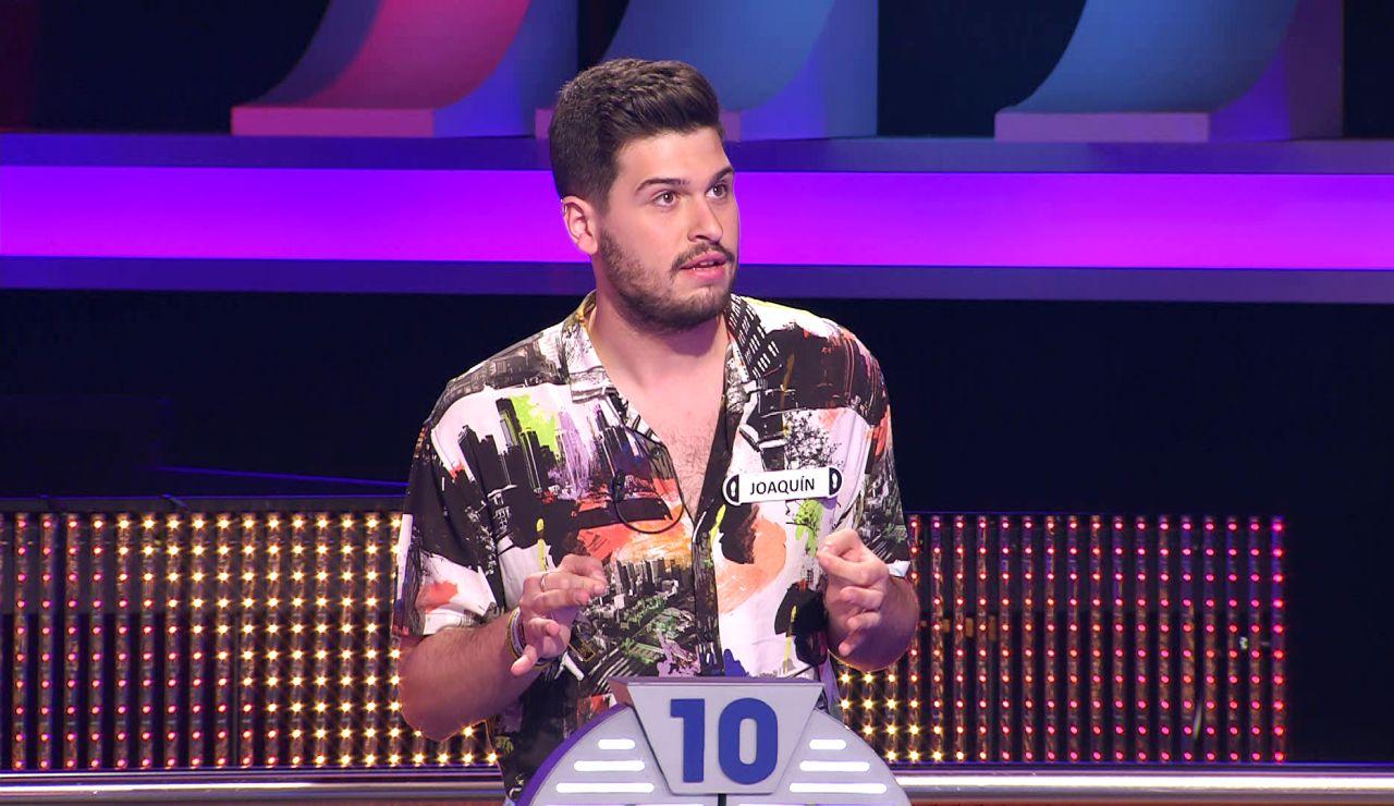 Joaquín entra en el top-10 de objetivos originales con el dinero de '¡Ahora caigo!'
