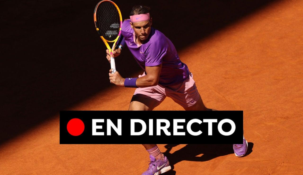 Rafa Nadal - Alexander Zverev: cuartos de final del Mutua Madrid Open, en directo