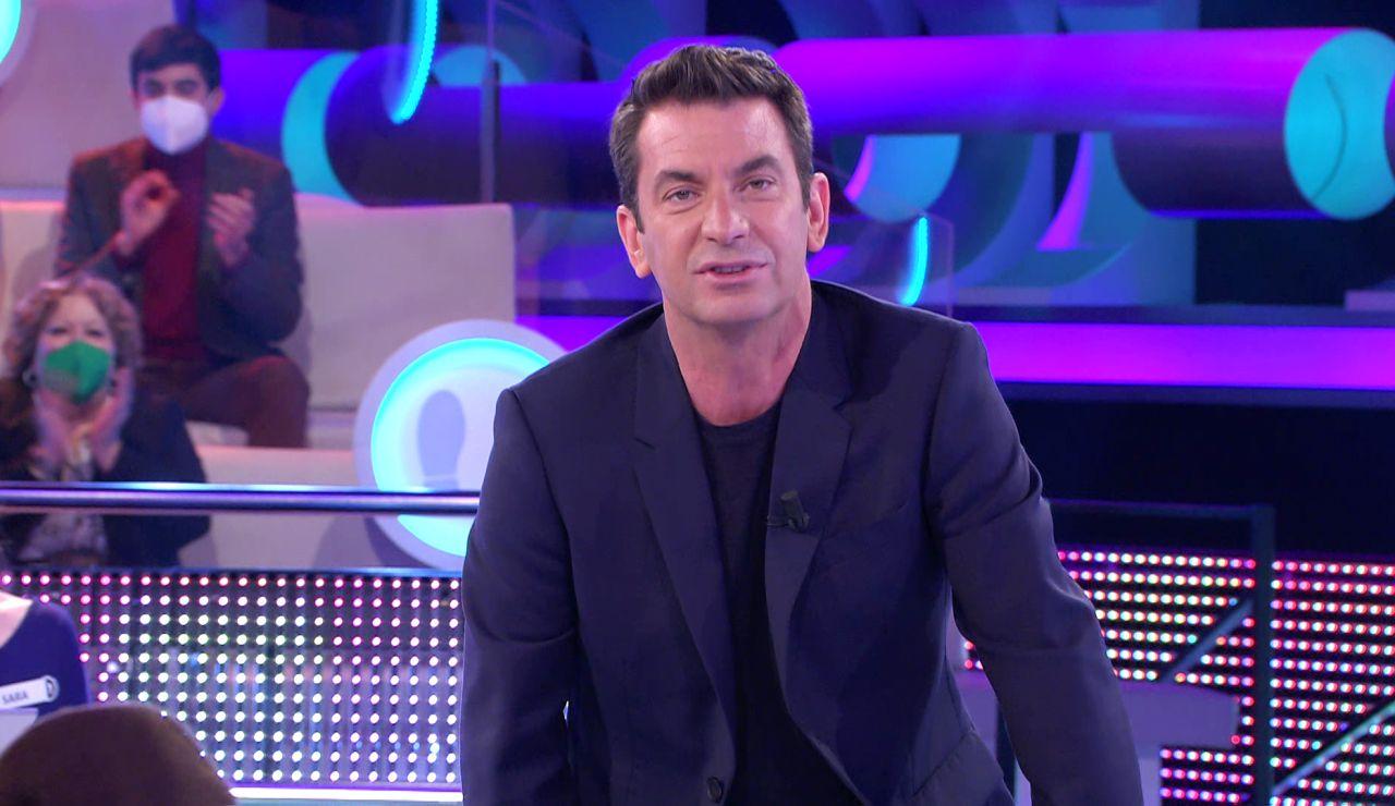 Arturo Valls llega a un pacto con Enriqueta para solucionar su problema con '¡Ahora caigo!'