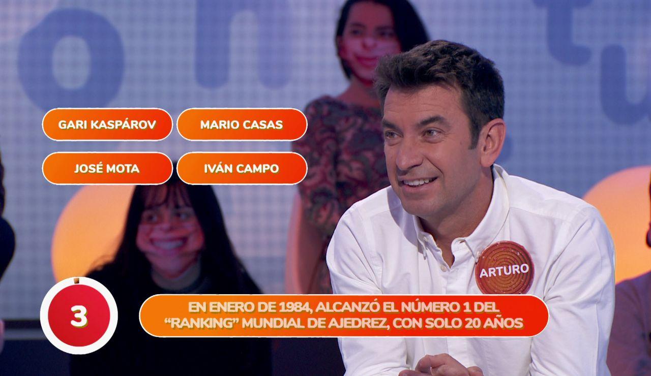 El VARpalabra falla a favor de Arturo Valls en 'Pasapalabra'