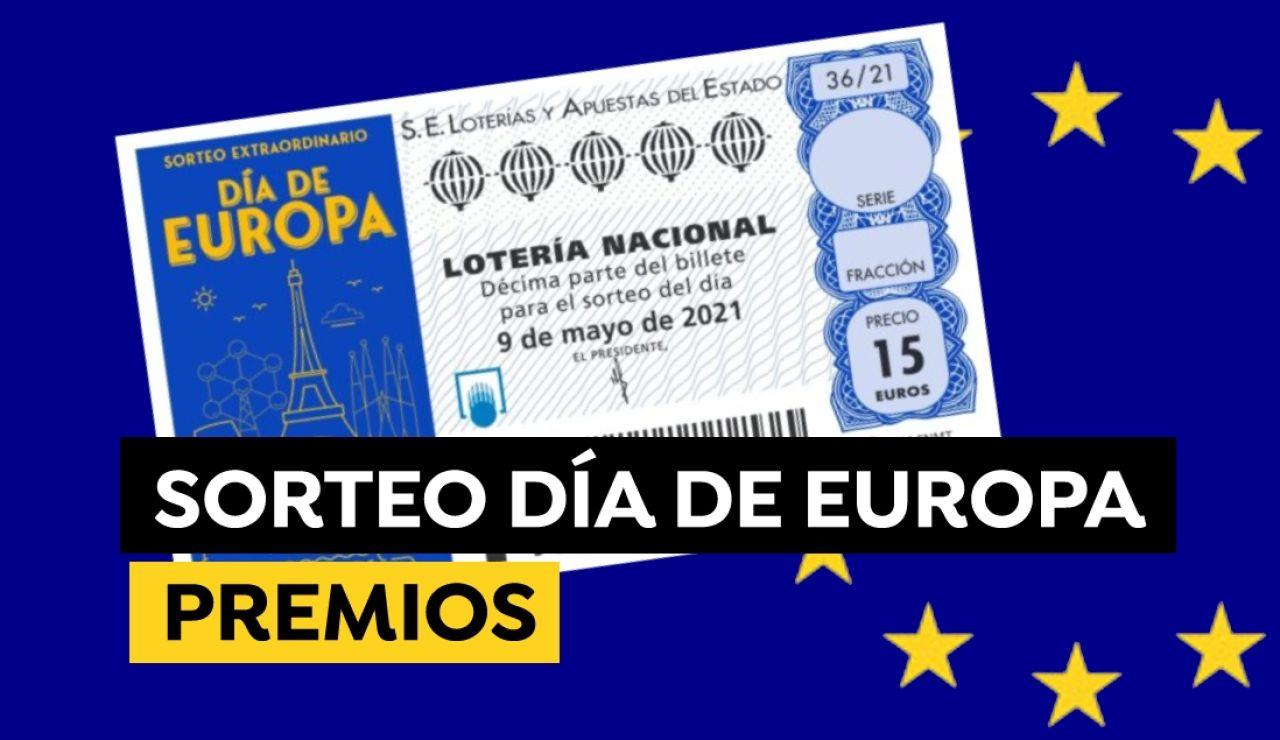 Sorteo Extraordinario de la Lotería Nacional del Día de Europa: ¿Qué premios se reparten?