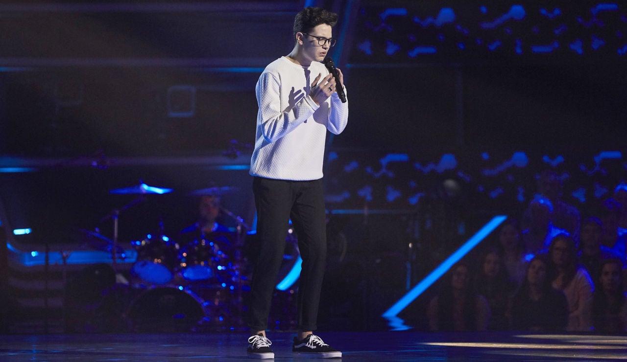 Javier Crespo canta 'All I want' en las Audiciones a ciegas de 'La Voz Kids'