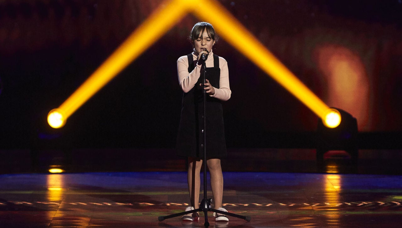 Marina Oliván canta 'Uncover' en las Audiciones a ciegas de 'La Voz Kids'