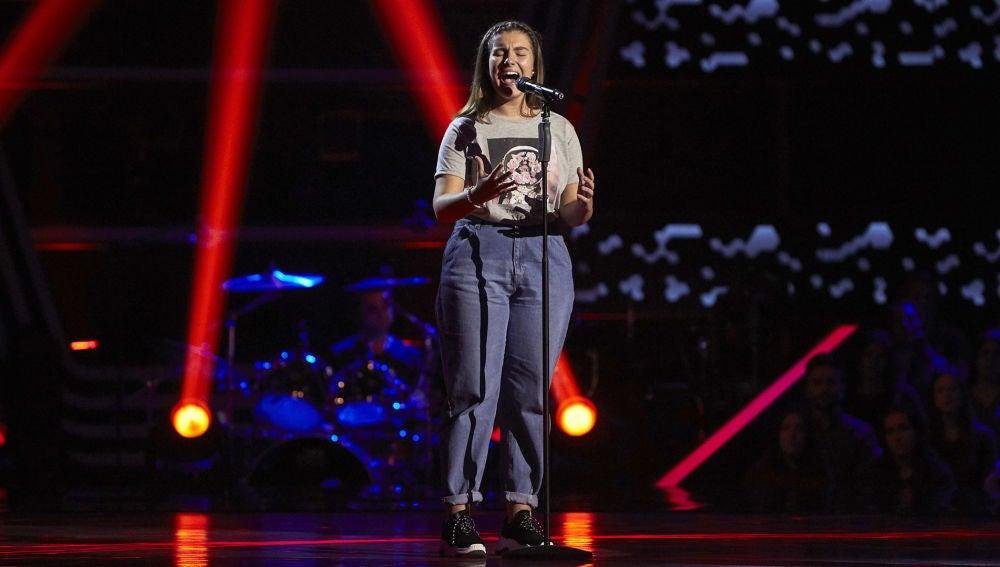 Haizea Roldán canta 'Someone you loved' en las Audiciones a ciegas de 'La Voz Kids'