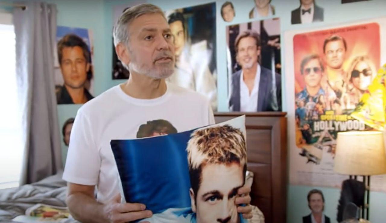 George Clooney en el anuncio
