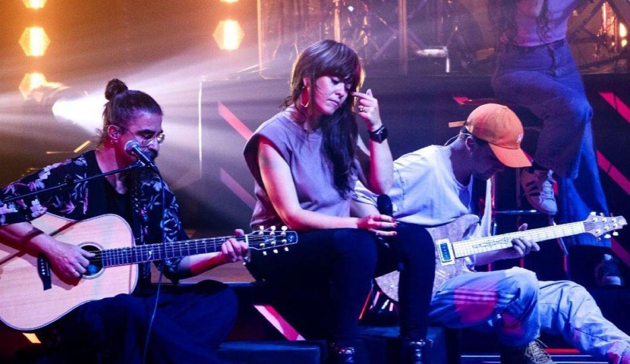 Vanesa Martín arranca su gira 'Siete veces sí' en el Wizink Center de Madrid
