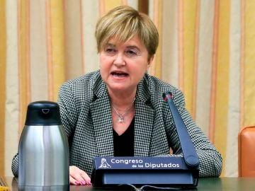 Isaura Leal, presidenta gestora del PSOE de Madrid