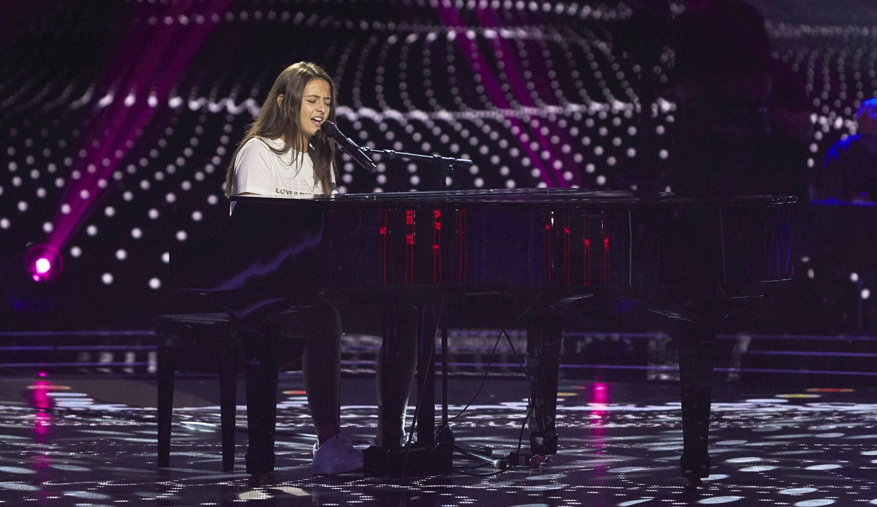 Julia Pascual canta 'She used to be mine' en las Audiciones a ciegas de 'La Voz Kids'