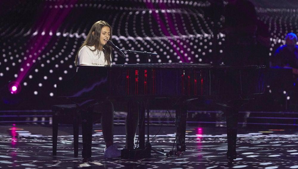 Julia Pascual canta 'She used to be mine' en las Audiciones a ciegas de 'La Voz Kids'