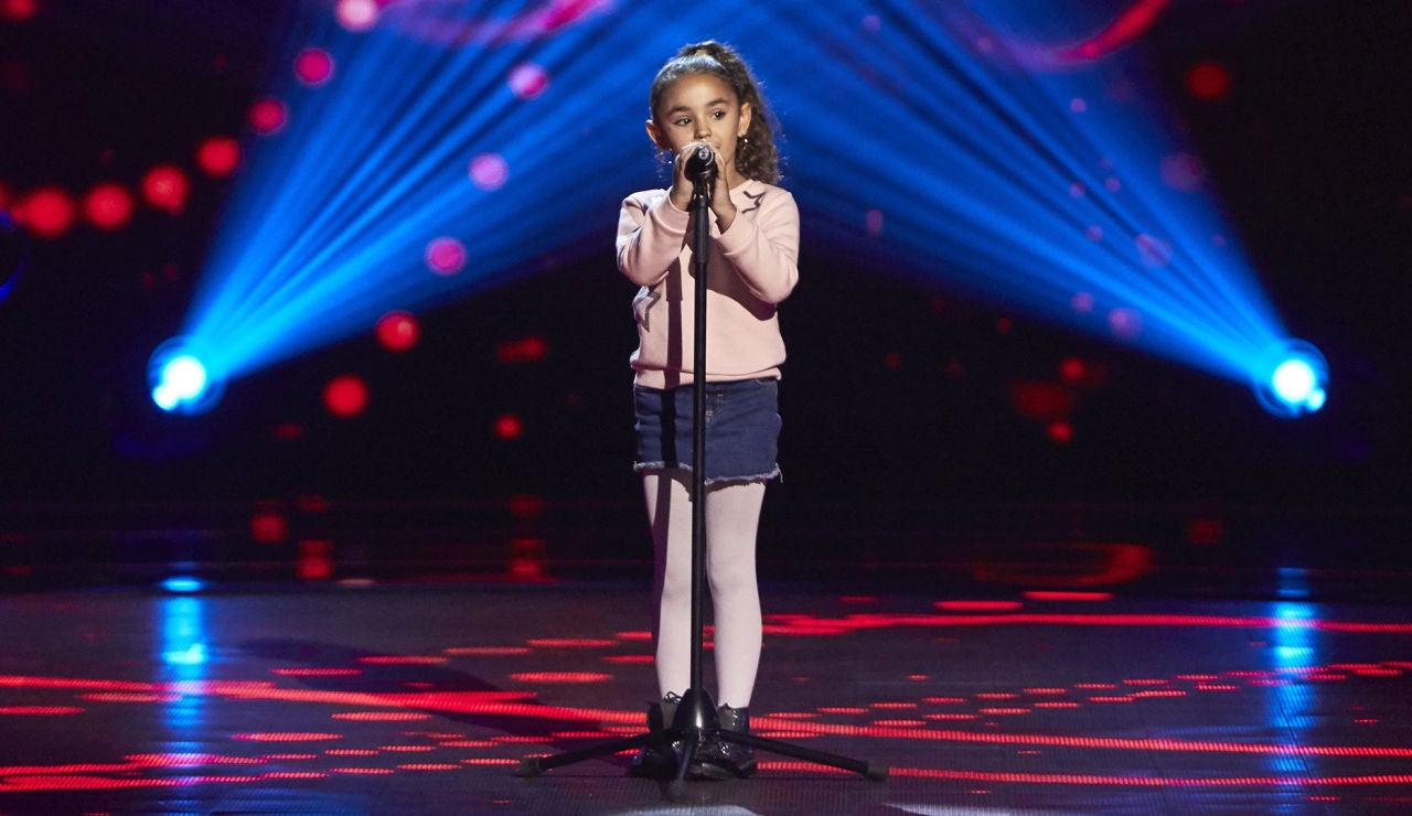 Samira Cuesta canta 'Válgame Dios' en las Audiciones a ciegas de 'La Voz Kids'