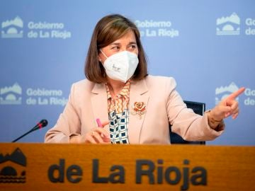 La consejera de Salud y portavoz del Ejecutivo regional, Sara Alba