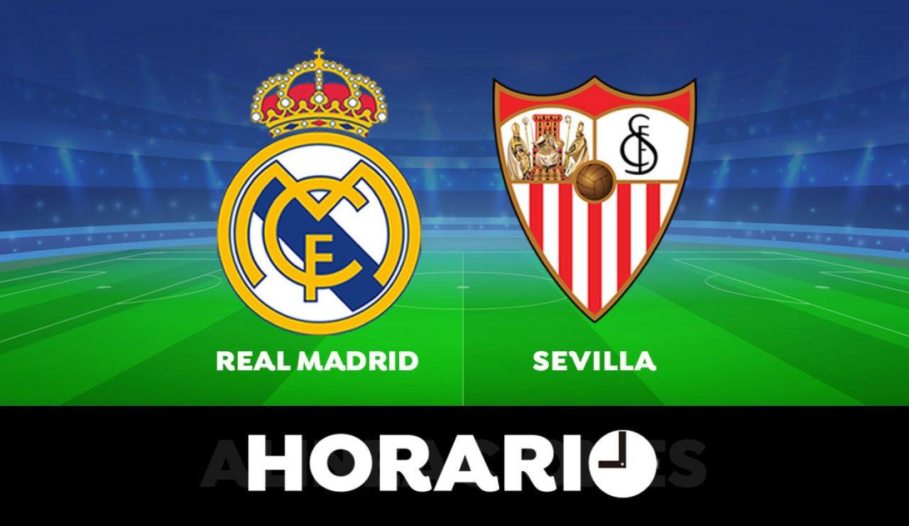 Real Madrid  - Sevilla: Horario y dónde ver el partido de la Liga Santander en directo