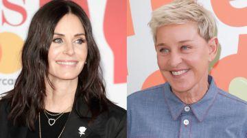 Courteney Cox y Ellen DeGeneres