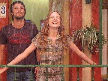 Lucas y Sara en 'Los hombres de Paco'